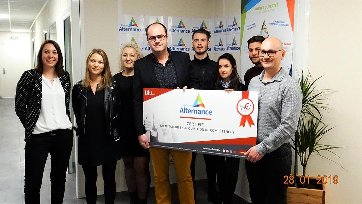 certification du Groupe Alterance