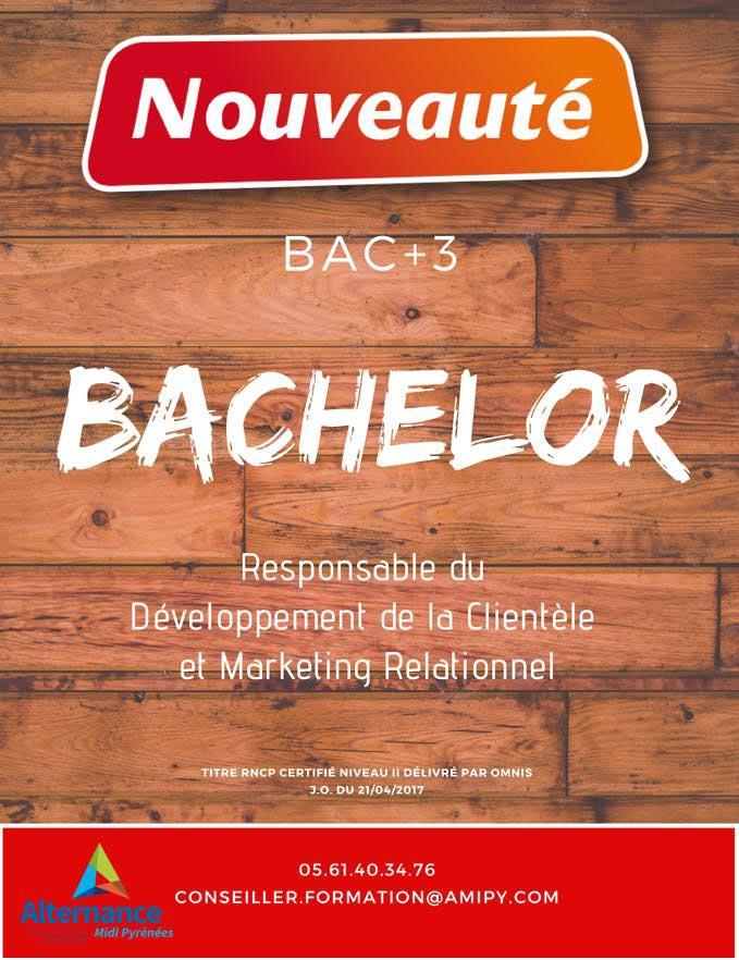 Nouveau Bachelor Marketing à Toulouse pour la rentrée 2019