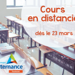 Groupe Alternance Toulouse Cours en distanciel Formation à distance Covid Coronavirus