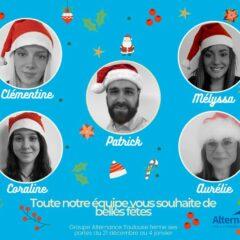 Groupe Alternance Toulouse fêtes de fin d'année 2020 2021