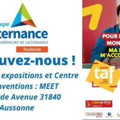 Groupe Alternance Toulouse au Salon Avenir Travail Formation TAF